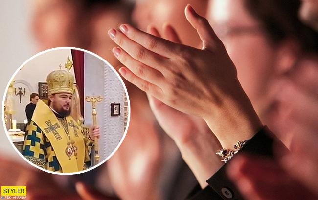 """""""На стороне правды"""": верующие поддержали митрополита Александра после перехода в ПЦУ (видео)"""