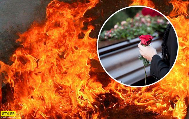 Пострадал ребенок: под Тернополем на похоронах случился пожар