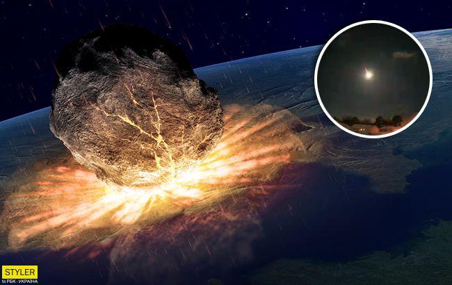 Метеорит взорвался над США - все подробности, видео ...