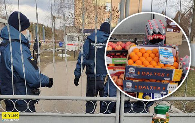 В МВД высказались о гумпомощи от жителей Новых Санжар