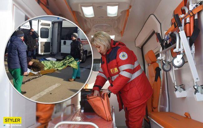Потрібна допомога: у Київ прибув борт з пораненими на фронті воїнами