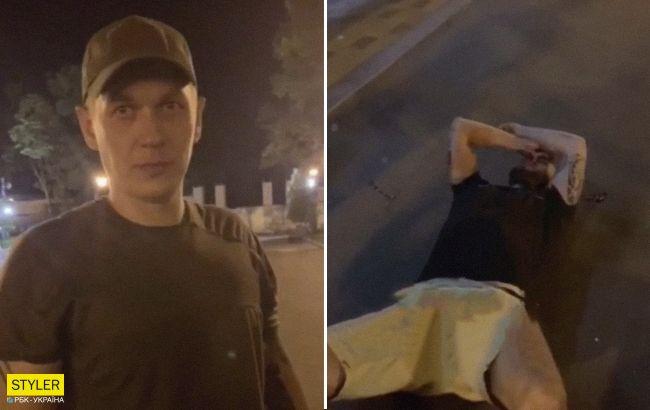 У Харкові охоронці жорстоко побили хлопця: момент потрапив на відео