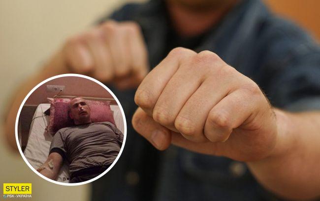 В Одесі жорстоко побили ветерана АТО: обурені люди вийшли на мітинг (відео, фото)