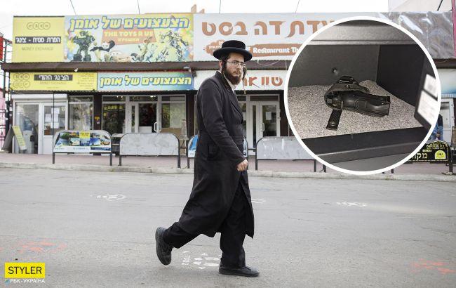 В Умани один израильский паломник подстрелил другого на празднике Песах, и сбежал в Киев