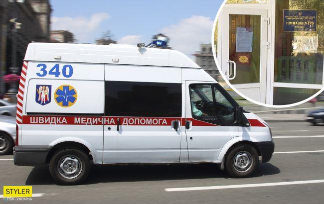 В Киеве школьник разбрызгал на перемене неизвестную смесь: 12 ученикам стало плохо
