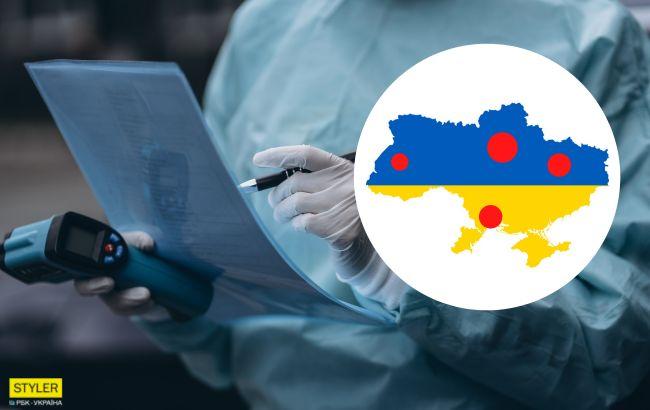Стало известно, где больше всего больных коронавирусом в Украине