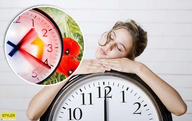 Украина переходит на летнее время в воскресенье: сколько будем спать