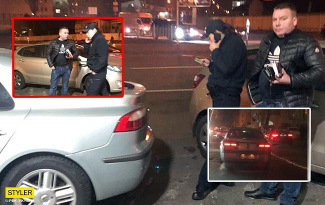У Києві п'яний військовий влаштував аварію