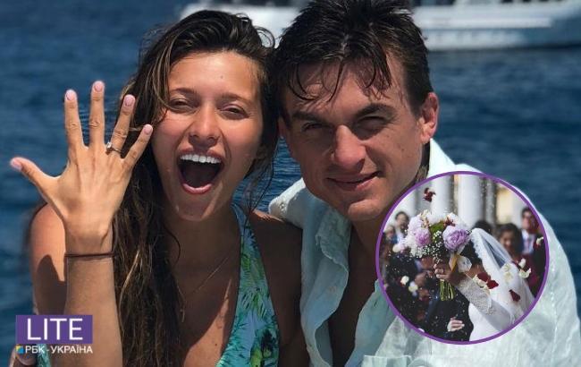 """""""Обручки на пальцях"""": у мережі розповіли про одруження Тодоренко і Топалова (відео)"""