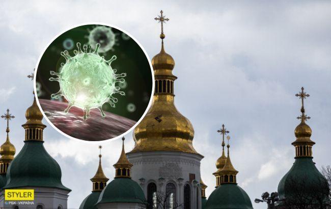 У Києво-Печерській Лаврі новий спалах коронавіруса: десятки заражених