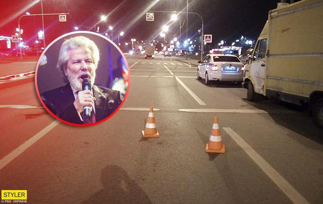 Відомого російського співака разом з дружиною збив автомобіль