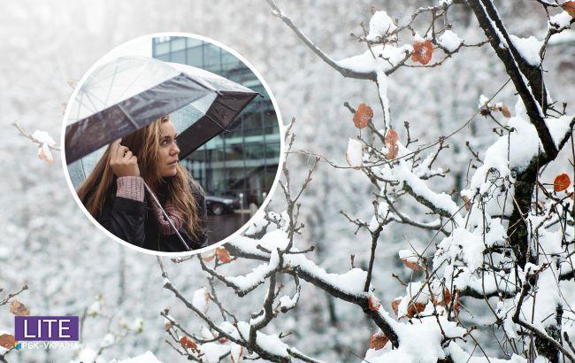 Морозы и снег: в какие области Украины пришла зима