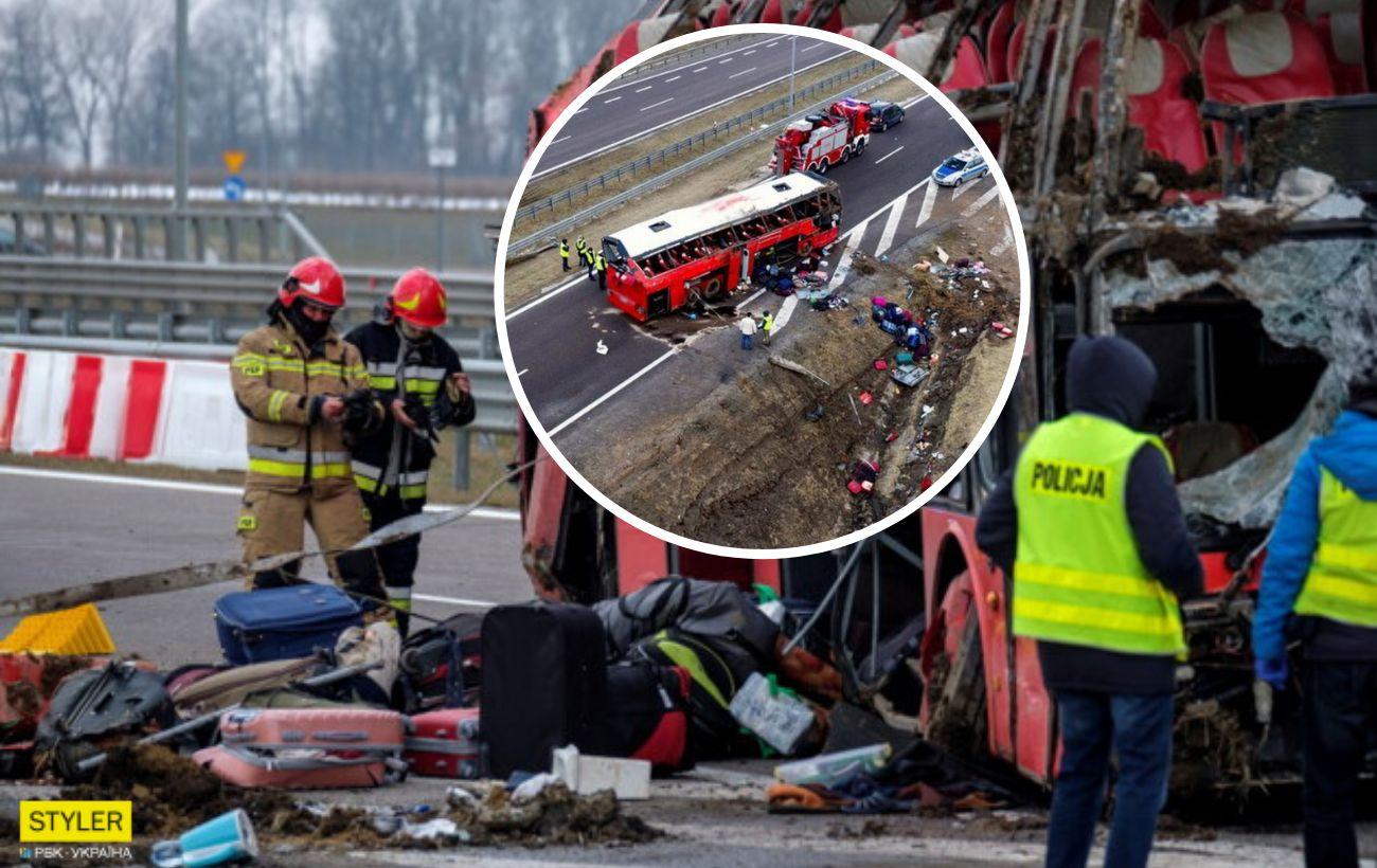 ДТП у Польщі з українським автобусом - очевидці розповіли свою версію  інциденту | РБК-Україна