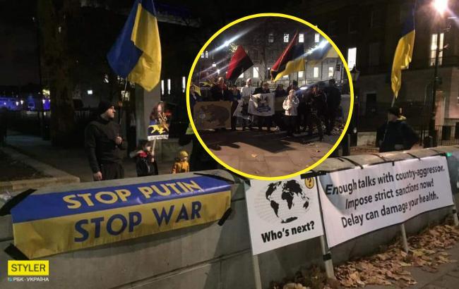 В Лондоне началась 30-дневная акция в поддержку украинских моряков