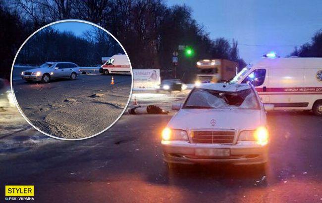 Моторошна ДТП під Запоріжжям: пішохода збили одразу два автомобілі (фото)