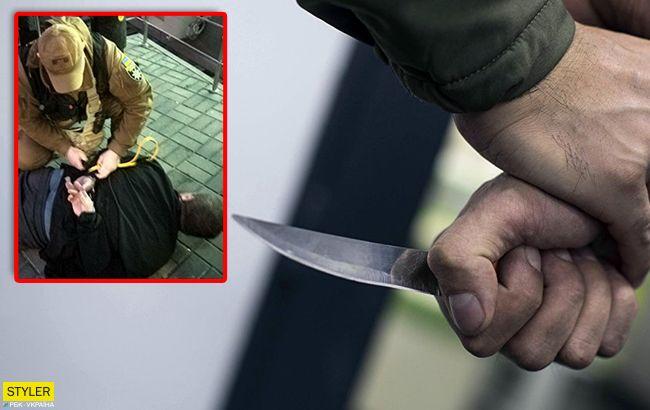 Муніципальна охорона знешкодила наркомана, що погрожував київським медикам ножом