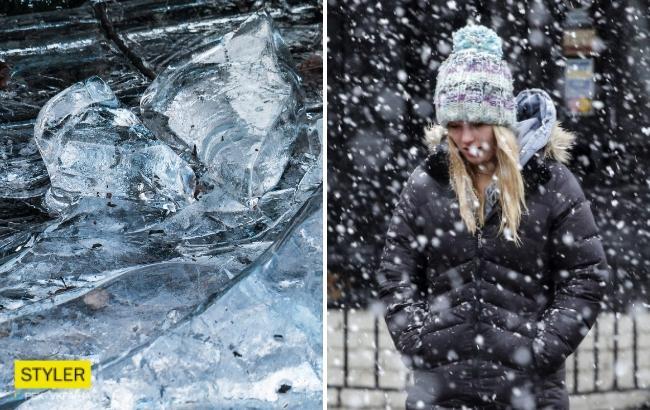 Ожеледиця та мокрий сніг з дощем: синоптики дали прогноз на початок тижня