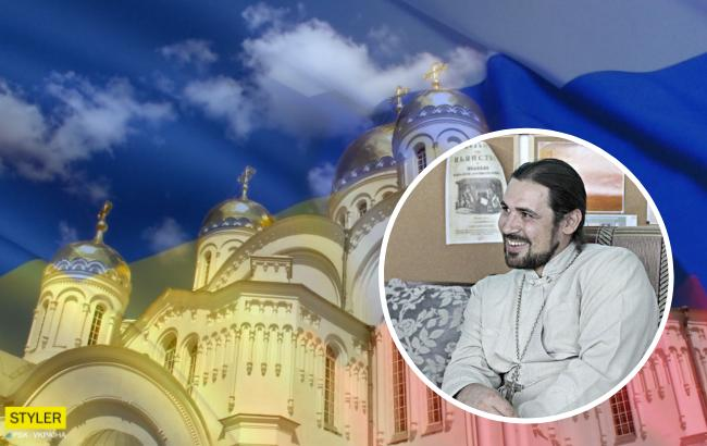 """Священник УПЦ МП """"выселился"""" из церкви вместе с куполом (фото)"""