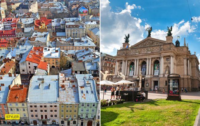 Стихія може чарувати: мережу підкорило фото Львова після потужної зливи