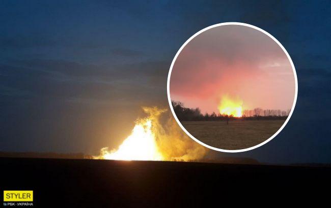 Вибух на газопроводі в Лубнах: що зараз відбувається на місці аварії