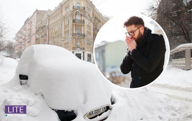 До морозів додадуться снігопади і ожеледиця: які області під ударом