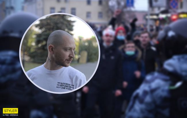 На протестах в Росії затримали відомого репера Оксимирона