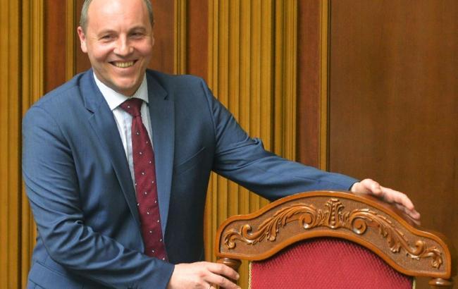 Фото: Парубий закрыл вечернее заседание ВР