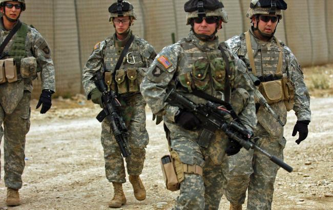 Фото: военнослужащие США