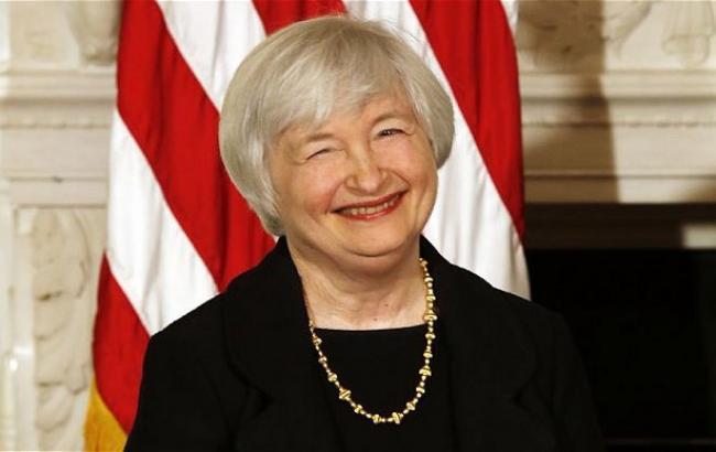 Фото: голова ФРС Джанет Йеллен збирається залишатися на своїй посаді до кінця терміну