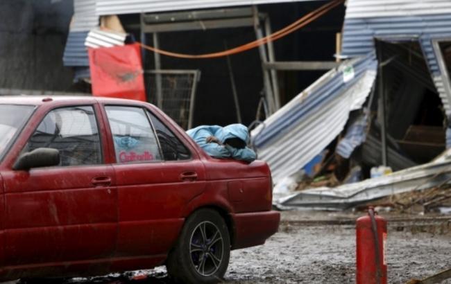 Фото (REUTERS): землетрясение в Чили