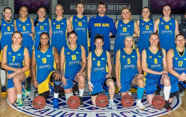 Фото: Жіноча збірна України з баскетболу (Facebook)
