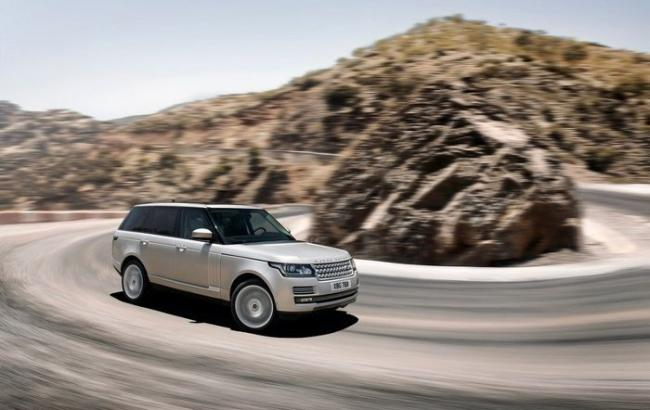 "Фото: Land Rover ""Range Rover""  (Twitter)"