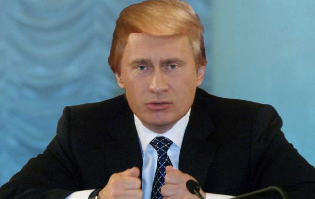 Фото: Шарж на Трампа и Путина (PostUA)