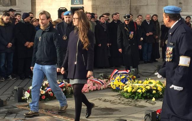 Фото: Марш в пам'ять жертв Голодомору (Twitter)