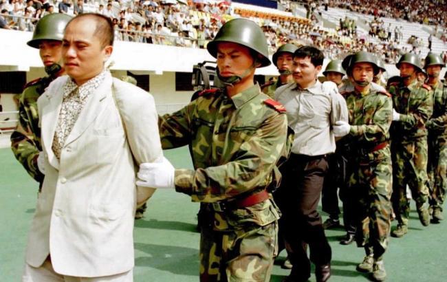 Фото: Расстрел чиновников в Китае (Nnm.me)