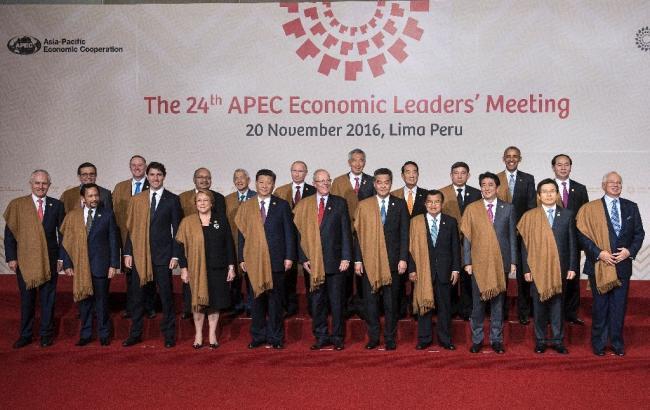 Фото: лідери АТЕС домовилися боротися проти протекціонізму