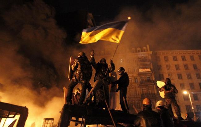 Фото: Річниця Майдану (Сьогодні)