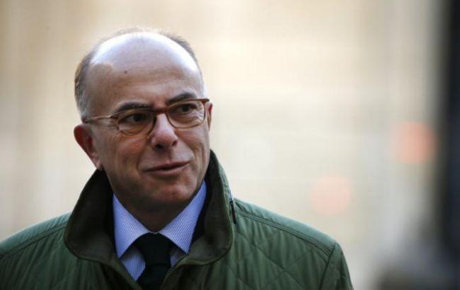 Фото: міністр внутрішніх справ Франції Бернар Казнєв заявив про запобігання теракту