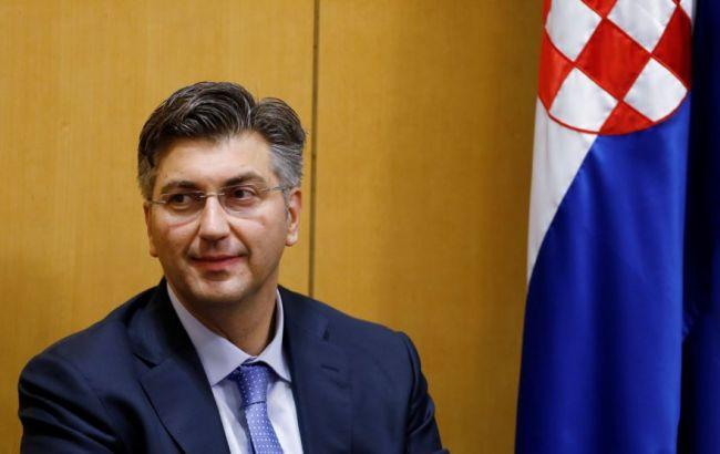 Фото: премьер-министр Хорватии Андрей Пленкович