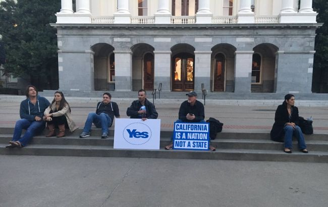 Фото: сторонники независимости штата Калифорния