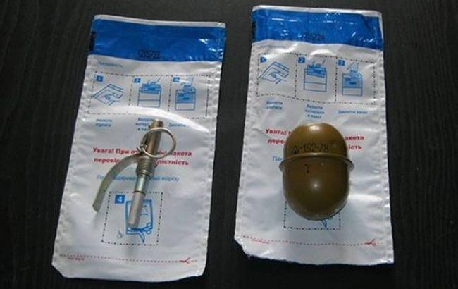 Фото: в Києві виявили гранату