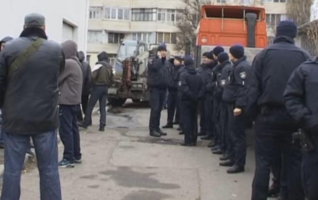 Фото: бійка сталася біля ковзанки в Одесі