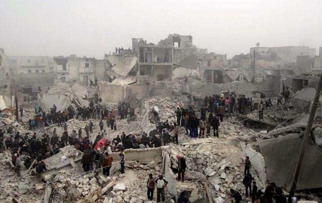 Фото: міжнародна коаліція завдала по позиціях ИГИЛ удари