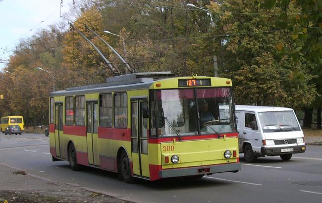 Фото: Троллейбус в Киеве (LiveJournal)