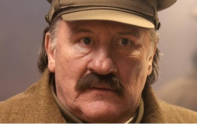 Фото: Жерар Депардье в образе Сталина