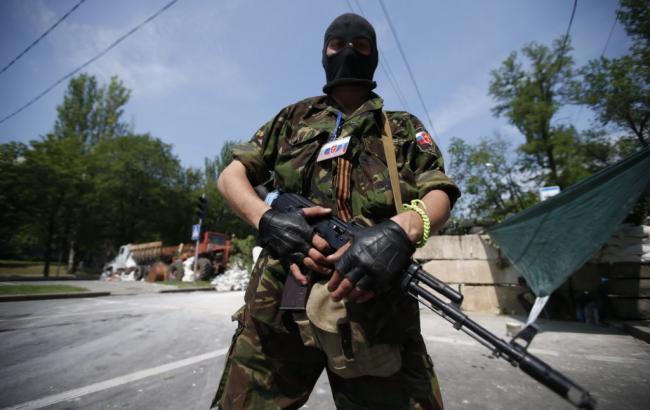 Фото: боевик ДНР