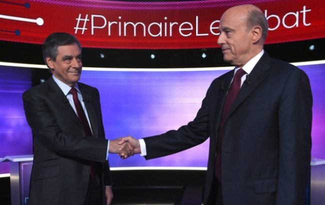 Фото: на теледебатах победил Франсуа Фийон