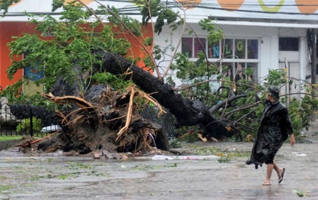 "Фото: Тайфун ""Дуцзюань"""