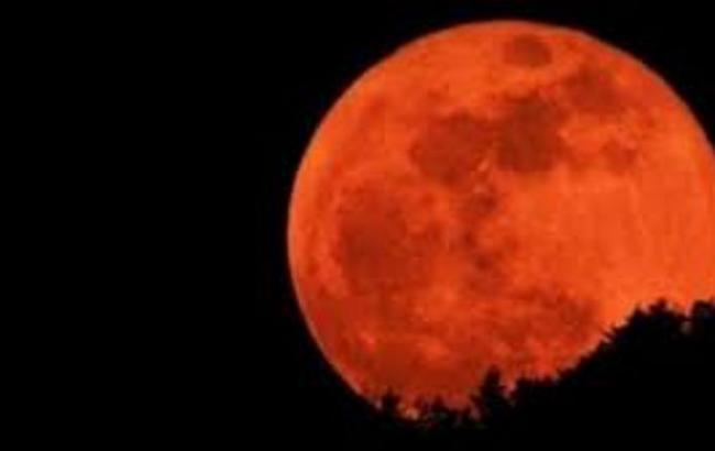 """Фото:  """"Кровавая Луна"""""""
