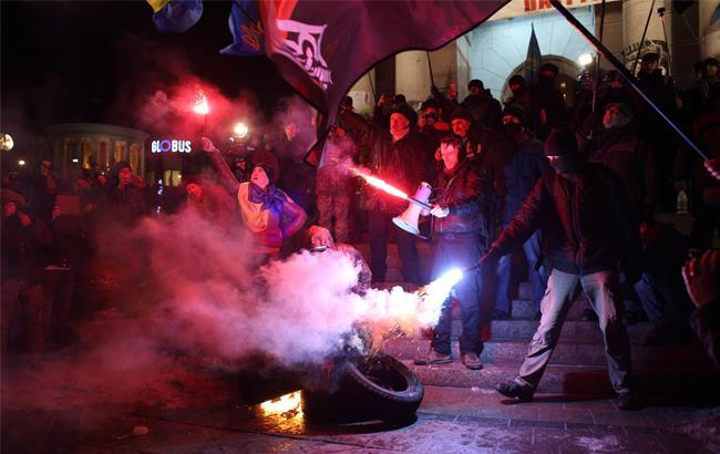 Фото: Годовщина Майдана (РБК-Украина)